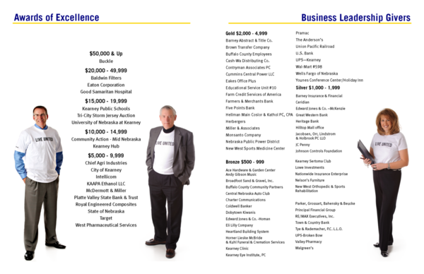 2014 Business Leadership Givers